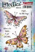 PaperArtsy Rubber Stamp Eclectica E³ - Kay Carley 25 - EKC25